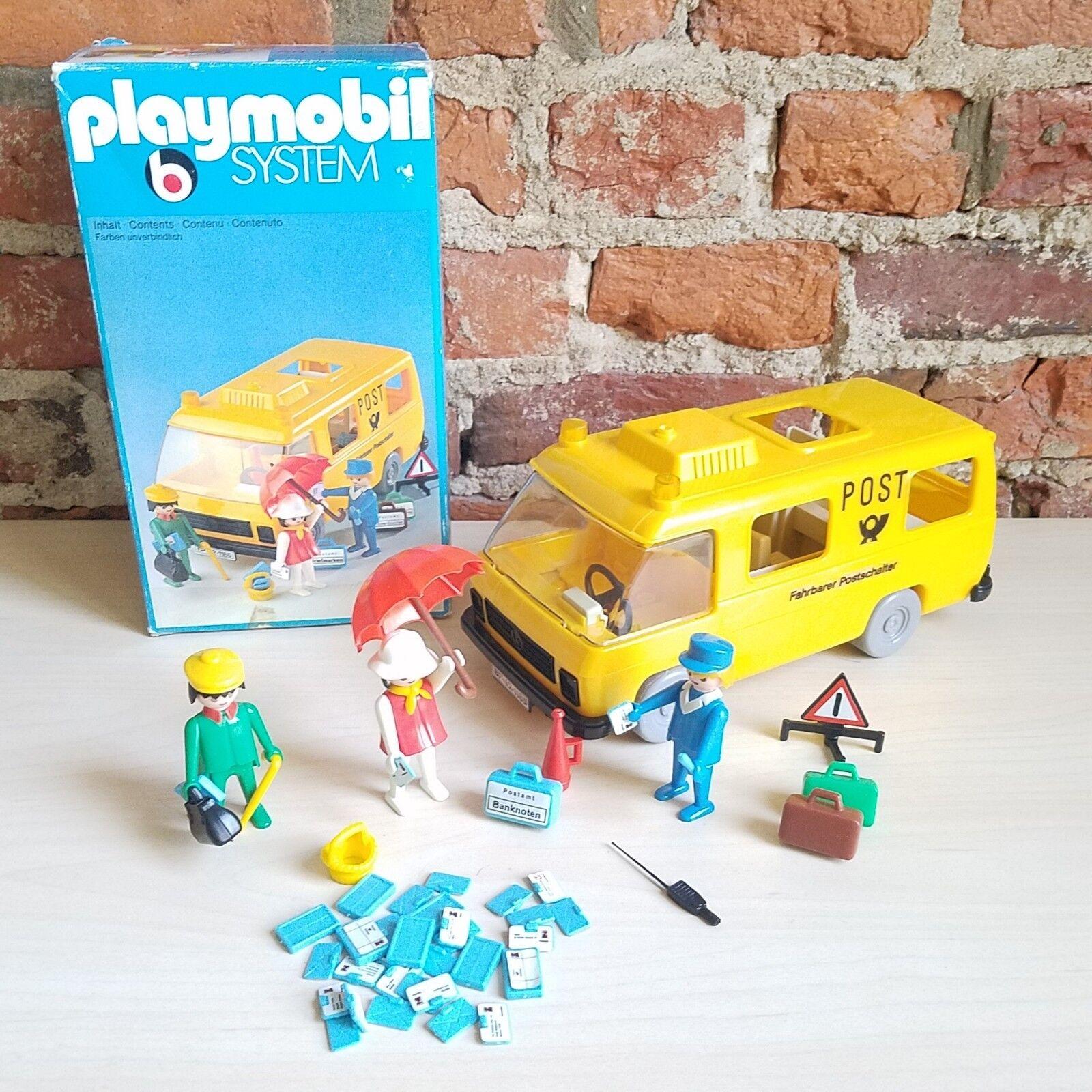 PLAYMOBIL Nº 3235 postal  Van  soutenir le commerce de gros