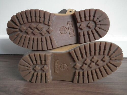 Uk Timberland donna Nubuck Brown Quilt stivali 6