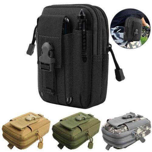 Tactical Waist Bag Waterproof Nylon Molle Pouch Casual Men EDC Tool Phone Bag