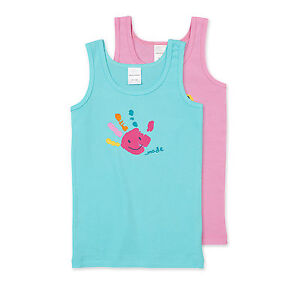 Schiesser-Chica-Tops-2-Pack-Ahorro-talla-104-116-128-140-Camiseta-interior-ropa