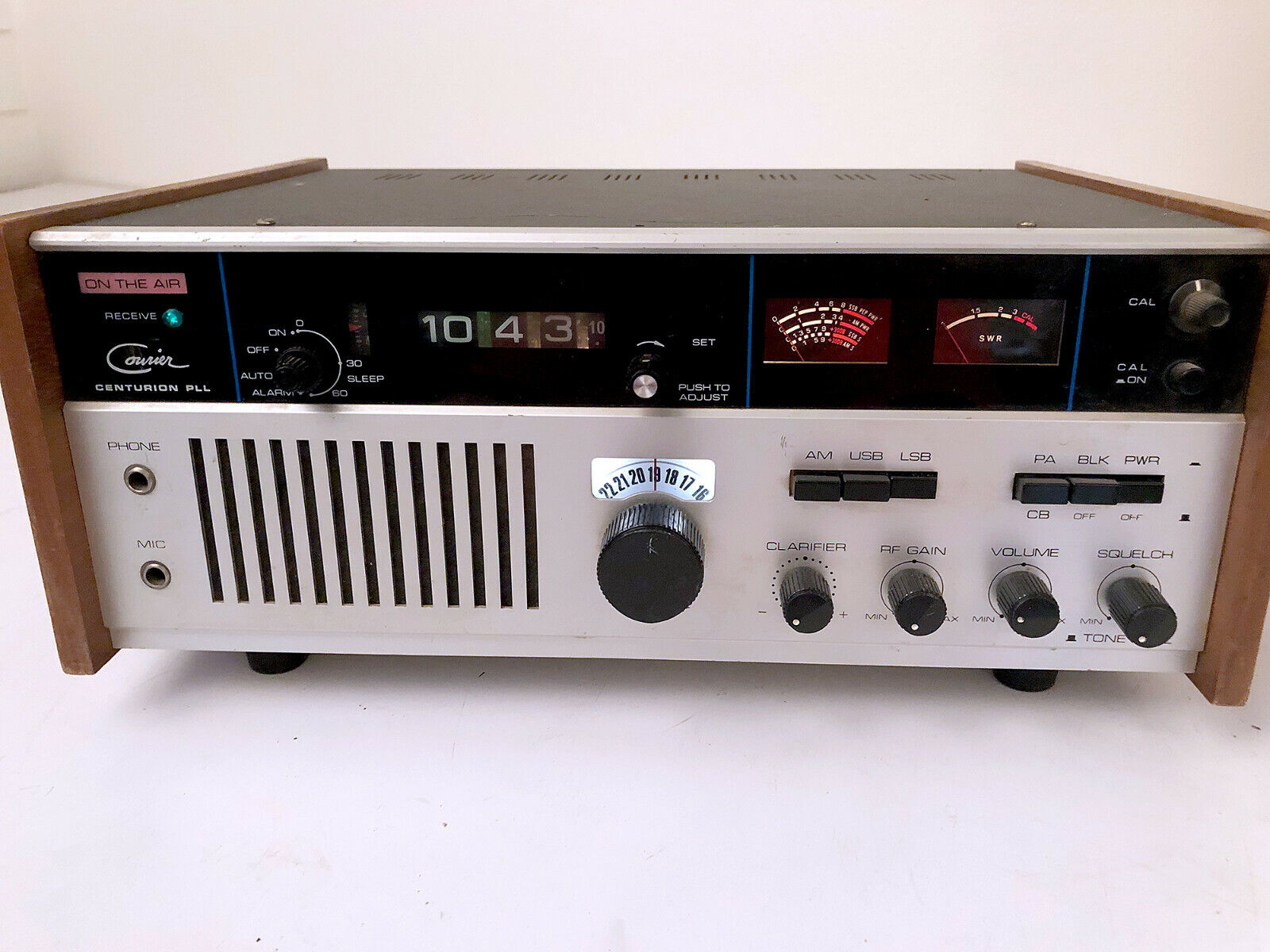 Vintage 1980's Courier Centurion PLL CB Radio Base Station - EXCELLENT!!!. Available Now for 299.99