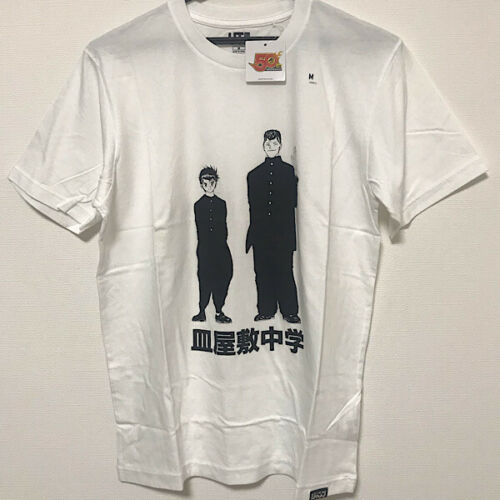 UNIQLO YU YU HAKUSHO MANGA T-Shirt Tops Men/'s UT White Color Japan Size S-4XL