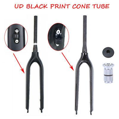 ESEN SP Black paint UD carbon fork 29er fork 9mm Mountain Bike Forks disc brake