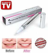 2PCS Platinum Light Teeth Pen Stain Remover Whitening Kit As Seen TV Free Ship