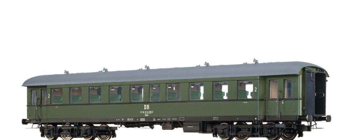 BRAWA HO 46161 vetture passeggeri bühe 2. classe delle DR Ep. IV NUOVO OVP