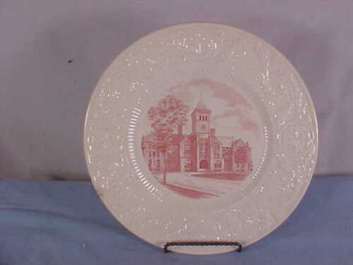 "1937 DUKE University ""WASHINGON DUKE BUILDING"" PlateBy Wedgwood"