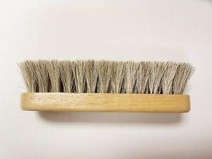 Professional-Boot-Shoe-Shine-Buff-Brush-100-Horsehair-5-1-4-034-034-Long-BLONDE