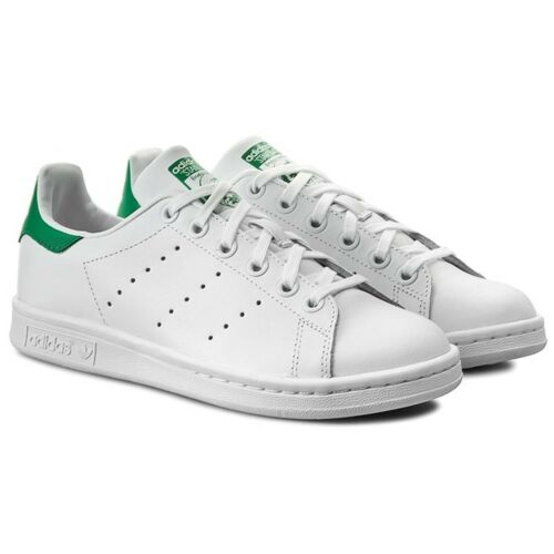 Adidas Blanc Casual Cuir J Sportif Baskets Chaussures Pour Smith Stan Femmes rPS7rw