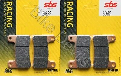 Suzuki GSXR 1000 K4 2004 SBS Race Sintered Front Brake Pads 806RS