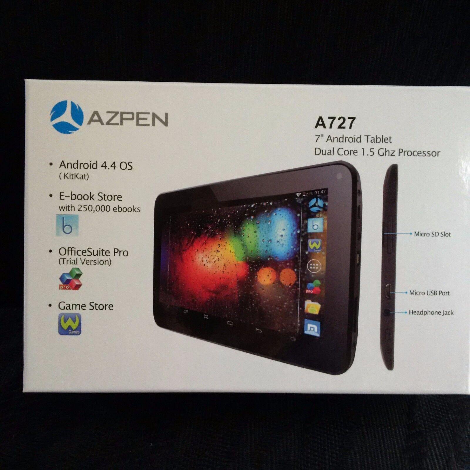 Azpen A727 7\ Dual Core Tablet