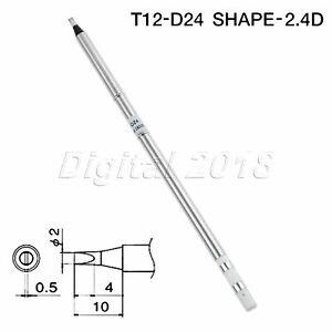 3pcs T12-ILS I IL Soldering Iron Tips For Hakko Soldering Rework Station 150mm