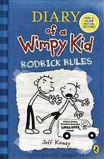 Diary of a Wimpy Kid - Rodrick Rules by Jeff Kinney (Paperback, 2009) New