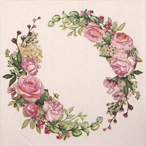 4x-Paper-Napkins-for-Decoupage-Decopatch-Craft-Wedding-watercolour-wreath