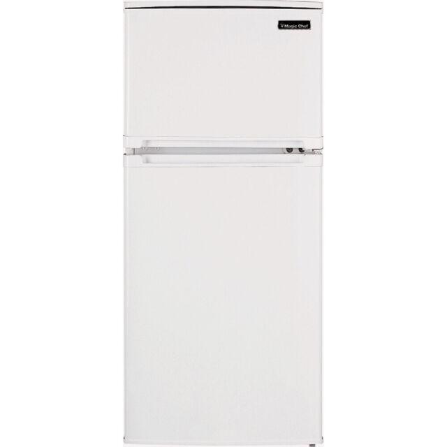 Magic Chef 4.3 Cu.Ft. Mini Refrigerator in White - HVDR430WE