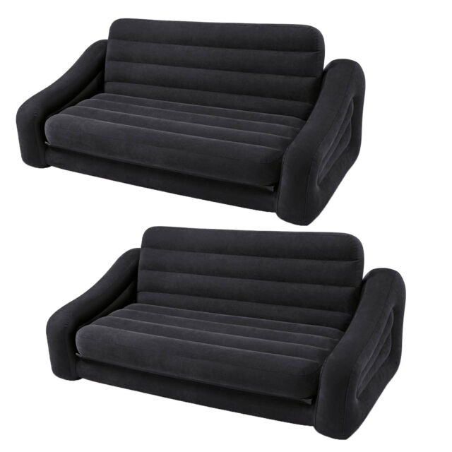 Sofa Inflatable Couch To Queen Size Bed