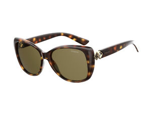 5ffc9ff8f26 Image is loading sunglasses-Polaroid-polarized-PLD-4049-S-havana-green-