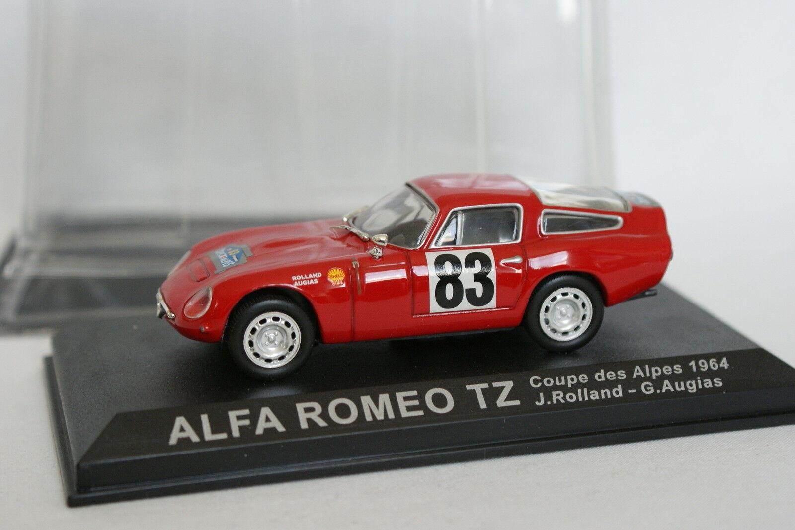 Ixo Press Rally 1 43 - Alfa Romeo TZ Cup of Alpes 1964