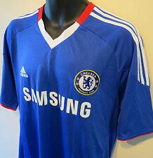 Adidas 10-11 Chelsea Football Shirt Soccer Jersey Maglia Camisa Trikot Skjorte L