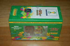 PANINI-BRASIL-WORLD-CUP-2014-NEW-BOX-WITH-FOIL-10-PACKETS-2x-LIMITED-CARDS