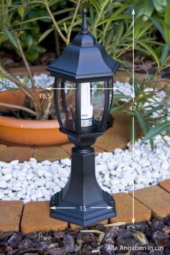Lampadaire Style Classique Borne d/'éclairage Luminaire de jardin Aluminium 29705