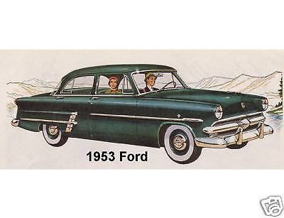Tool Box Magnet Gift Man Cave Card Insert 1973 Ford F-100  Refrigerator