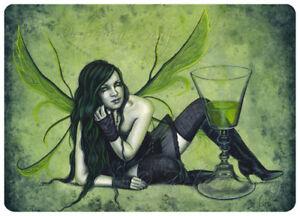 Gothic-Fairy-Fantasy-ACEO-PRINT-Art-Absinthe-Green-wc