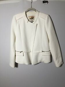 Trelise-Cooper-Womens-White-Baby-Back-Ribs-Jacket-Size-12-Long-Sleeve