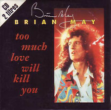 ★☆★ CD SINGLE Brian MAY – QUEEN Too much love will kill you 2-tr CARD SLEEVE ★☆★