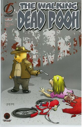 The Walking Dead Pooh Homage Rose City Con Exclusive Ltd Comic Ed