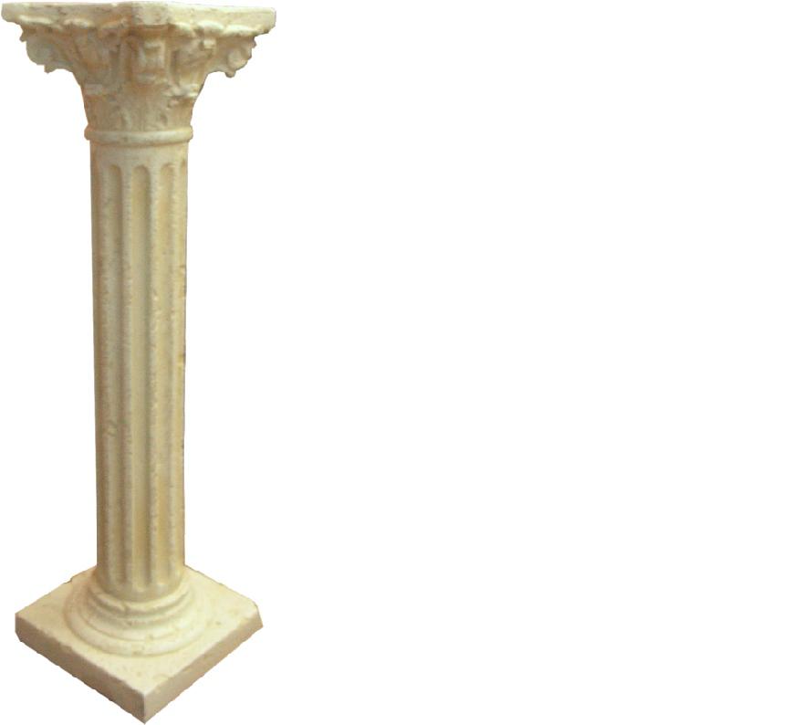 Design Colonna pilastro dekosäule pilastri fiori pilastro supporto pianerottolo 1634 NUOVO