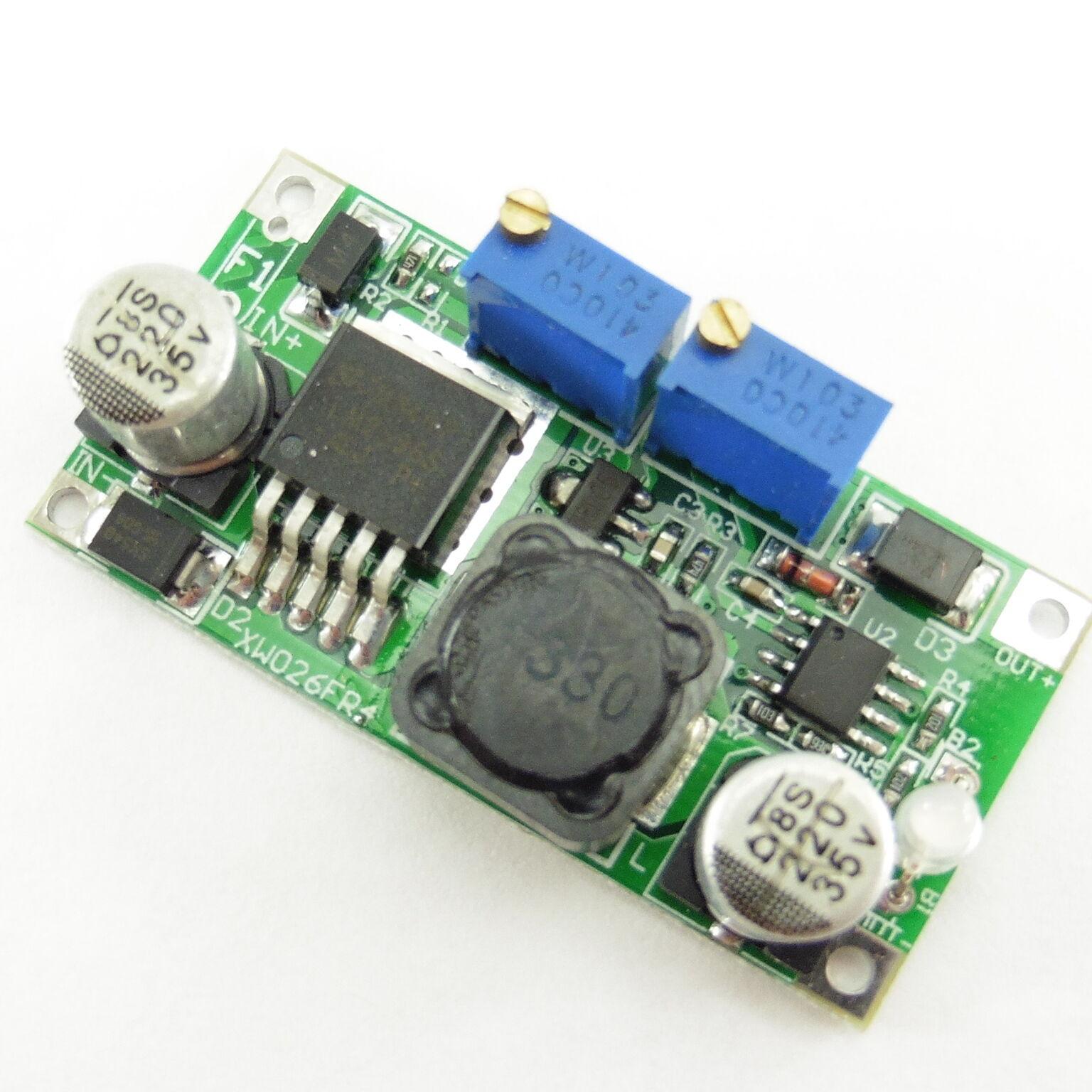 DC DC CV CC 2A LED Driver Power Supply Module LM2596 Step-Down Constant Current