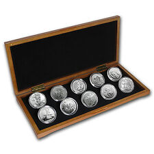 2017 10-Coin Silver 1 oz Around the World Bullion Set - SKU: 131876