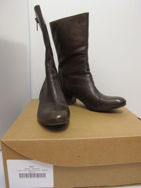 BORN Women's Cognac GELSEY Booties Size US 9.5 (D06316)#
