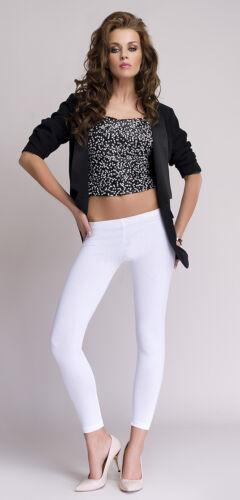 Good quality women ladies long lengh leggings 95/% Cotton Low waist Lea Mija