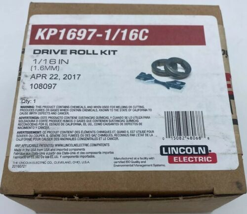 "Lincoln Electric KP1697-1//16C Drive Roll Kit 1//16/"" Cored Wire"
