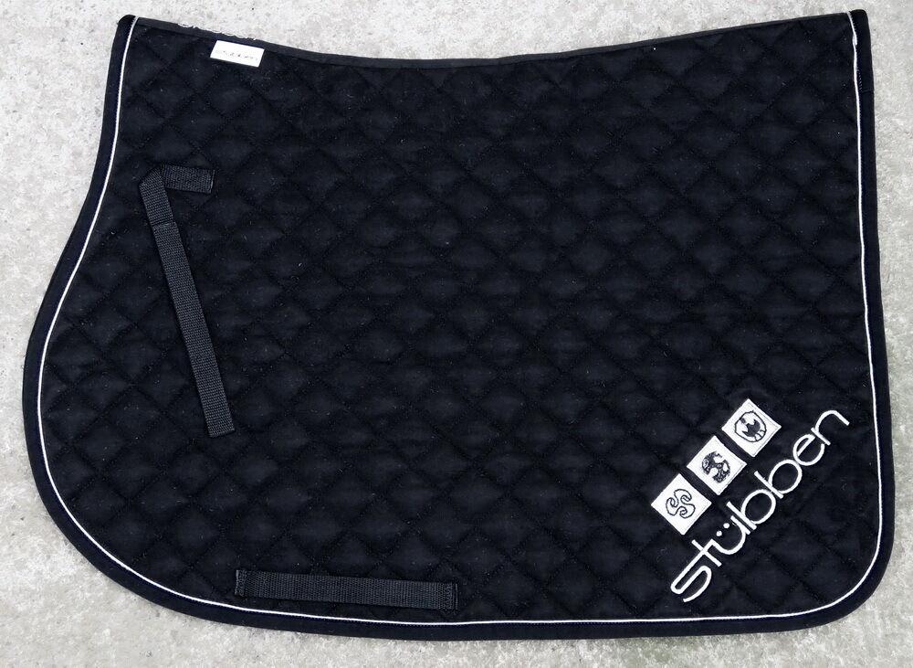 STUBBEN Comfort Padded SUPER SOFT Velour JUMPING Saddle Cloth 7180
