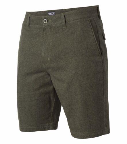 O/'Neill DELTA TEXTURE  Mens 100/% Cotton Walkshorts Size 32 NEW
