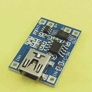 1A-4-2V-mini-usb-18650-batterie-li-ion-D1A2-chargeur-conseil-module