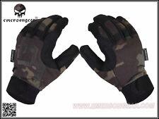 EMERSON Tactical Lightweight Camouflage Gloves (Multicam Black) (L Size) BD8726B