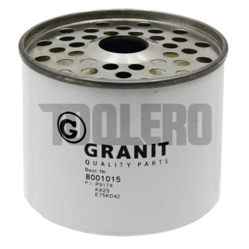Filtro de combustible gasolina filtro para John Deere p 917 X /& ff001670024 D 300 300