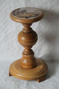 Blumensaeule-Blumenstaender-Holz-und-Keramik-17012
