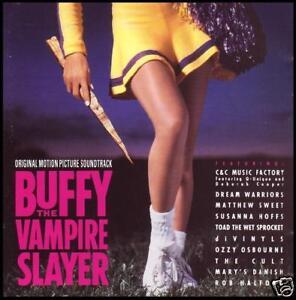BUFFY-THE-VAMPIRE-SLAYER-SOUNDTRACK-10-Trk-CD-Album