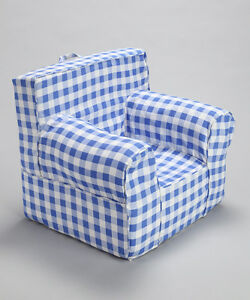 Image Is Loading INSERT FOR POTTERY BARN ANYWHERE CHAIR INCLUDES BLUE