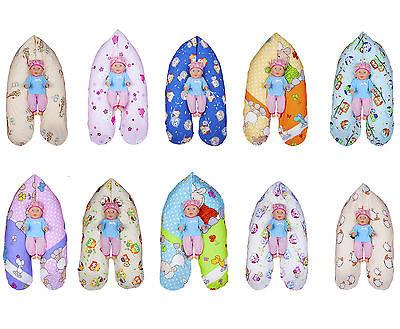 Amilian/® Stillkissen Lagerungskissen Seitenschl/äferkissen ink.Bezug 170cm NEU XXL Baby V/ögelchen Wei/ß