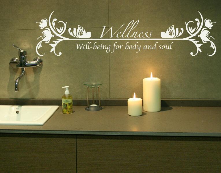 Wellness-Haute Qualité Mur Decal Autocollant