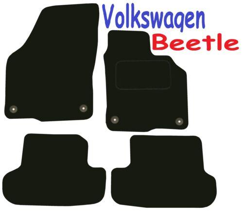 Tailored Mats Volkswagen Beetle 2012 Onwards ** Black ** Convertible Cabrio