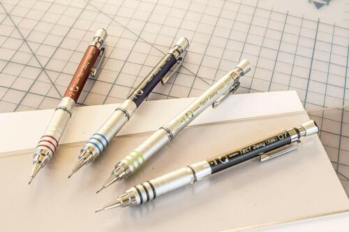 Zebra Steel M Mechanical Technical Pencil Eraser Refills 7-Count Fix Mistakes