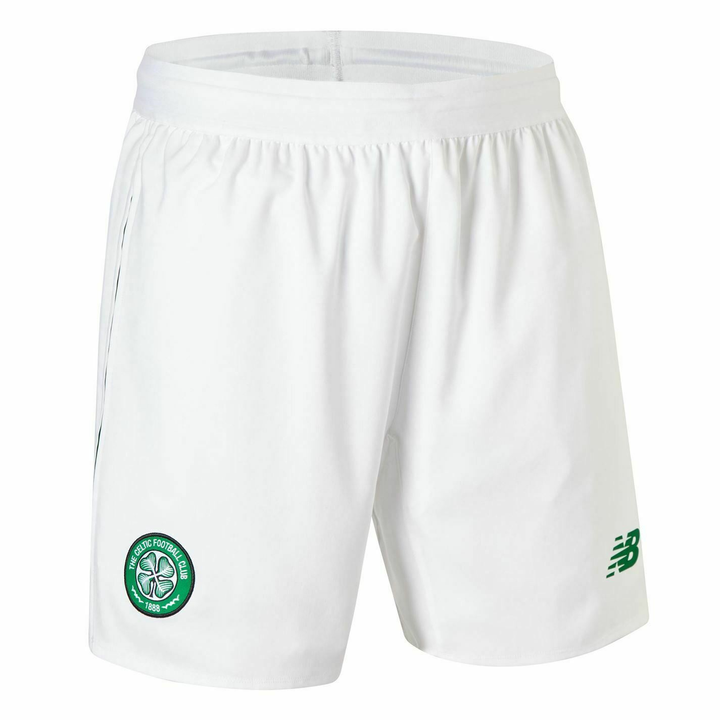 New Balance Celta Casa Pantalones Cortos 2018 2019 Hombres blancoo Fútbol Ropa