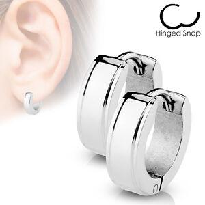 attache boucle d'oreille acier chirurgical