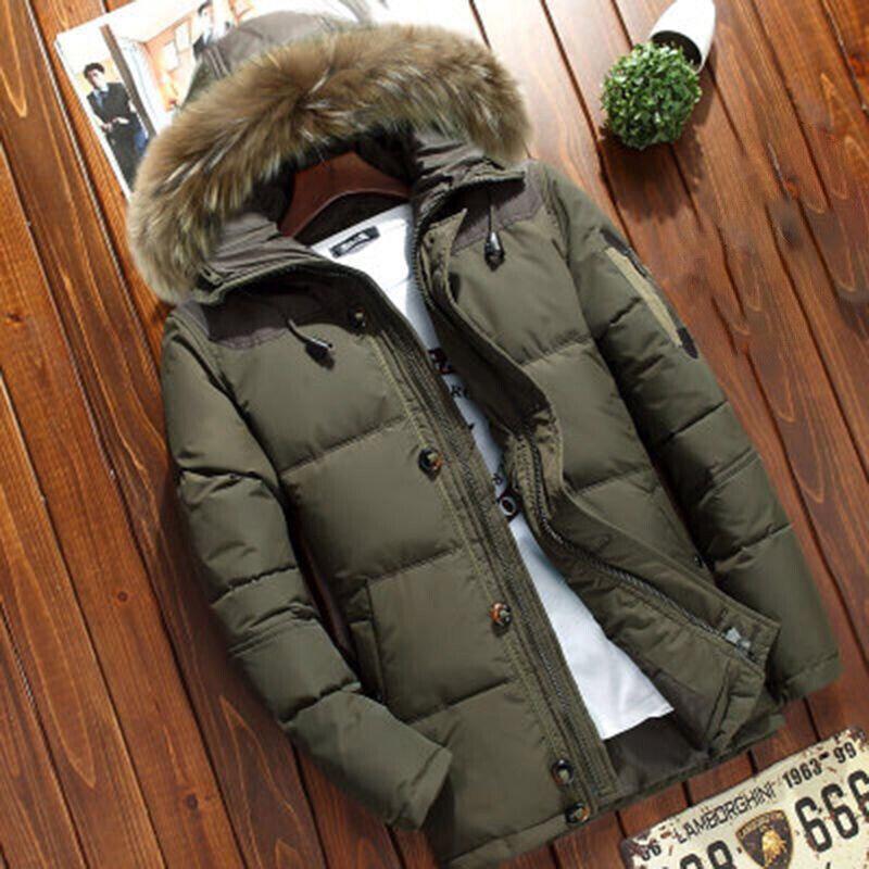 Fur Hooded-ArmyGreen